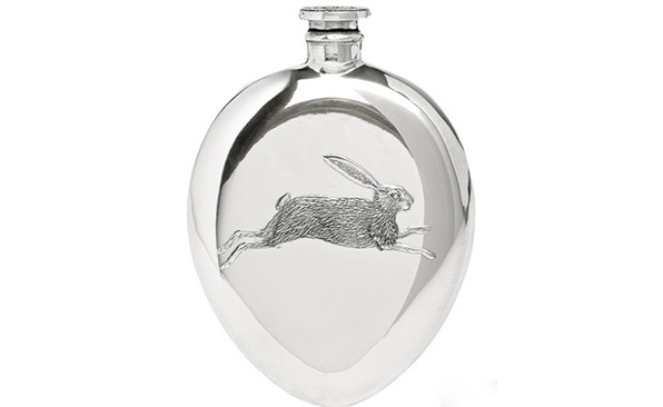 Holland & Holland Hare flask, £145
